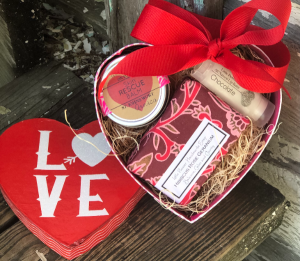 Mini Spa Valentine's Gift Set  in Key West, FL | Petals & Vines