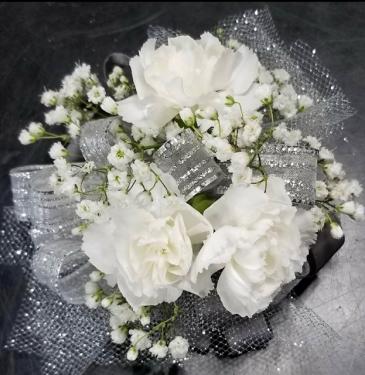 Miniature Carnation Wristlet Corsage