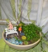 Miniature Garden Container garden