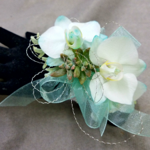 miniature orchid wristlet wristlet