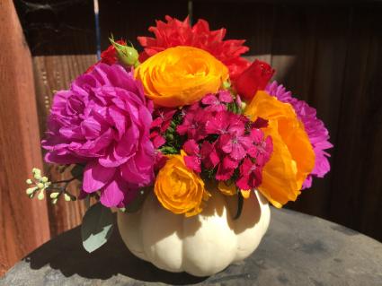 Petite  Pumpkin Bouquet