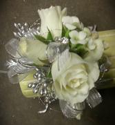 miniature roses and kalanchoe wristlet wristlet