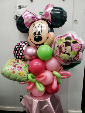 Minnie Celebrates with You Balloons