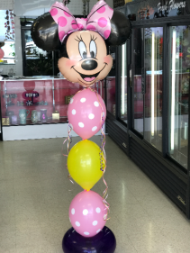 Minnie Link O Loon Balloon Character