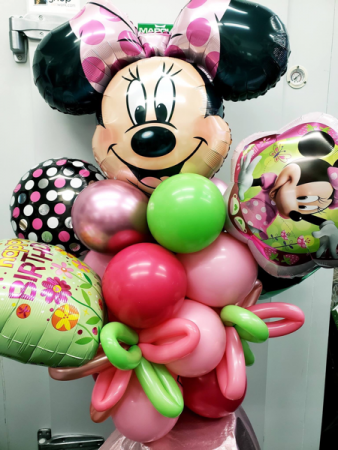 Minnie Mouse Bouquet Balloons