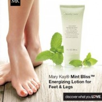 Mint Bliss Energizing Lotion for Feet & Legs Mary Kay