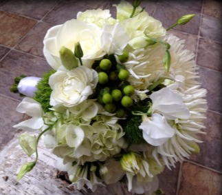 Mint To Be Bridal Bouquet