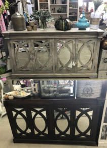Mirrored Buffet / Console Table