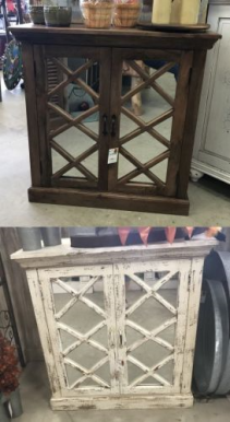 Mirrored Cabinets