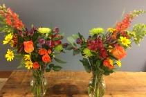 Mirrored Sympathy Vase Arrangement