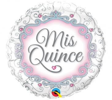 Mis Quince  Mylar Balloon