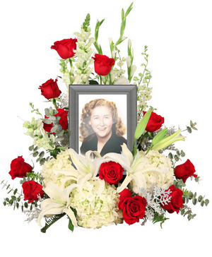 Missing You Memorial Flowers   (frame not included)  in Berkley, MI | DYNASTY FLOWERS & GIFTS