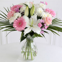 Missy Pink Daisies and Lilies