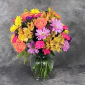 mix brights Vase Arrangement