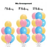 Mix Colour Balloon Bouquet Balloon Bouquet
