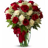 Mix Cottage Vase of Flowers