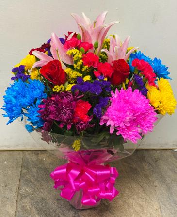 Mix Flowers Birthday