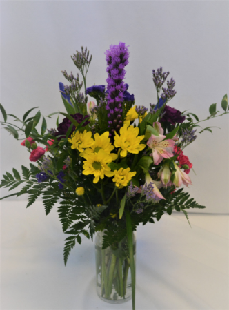MIX IT UP AND TWIST FRESH FLOWERS VASED