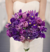 mix of purple Bouquet
