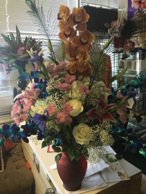 MIX ORCHIDS & FLOWERS