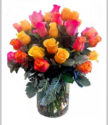 Mix Roses Arrangement