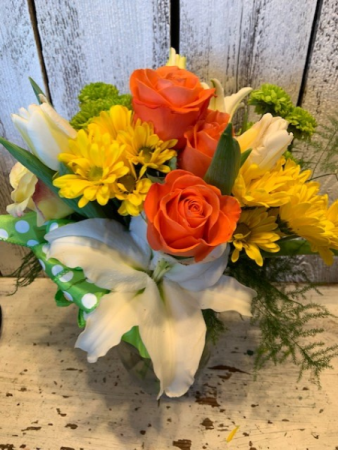 Mix Special lillies/roses/fillers