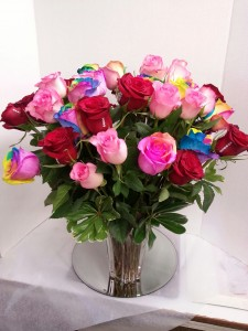 Mixed 3 Dozen Roses Roses in Albany, NY | CENTRAL FLORIST