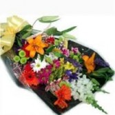 "Mixed Assorted Seasonal Flowers ""B"" Presentation *Margot's Area Only*"