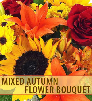 Mixed Autunm  Vase Arrangement Designer Choice in Nampa, ID | FLOWERS BY MY MICHELLE