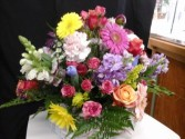 Basket of Love Basket Arrangement in Union, MO | Sisterchicks Flowers and More LLC