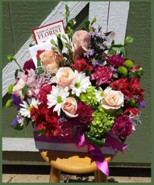 Mixed Bloom Box It's Beautiful - Our Favorite! in Arlington, TX | Erinn's Creations Florist