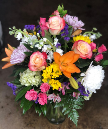 Mixed Bouquet- No two are exactly alike Variety of colors and flower types