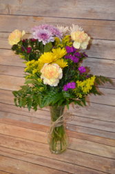 Mixed Bouquet Vase