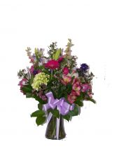 MIXED BOUQUET VASE ARRANGEMENT
