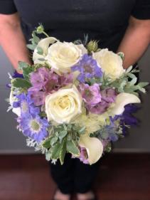 Mixed Bridal Bouquet Bridal or Brides Maid Bouquet