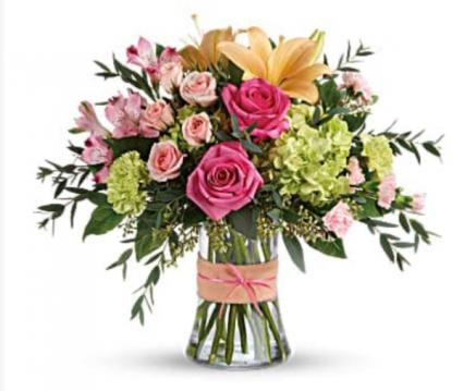 Blush Life  Vase