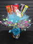 Mixed Chocolate Candy Bouquet