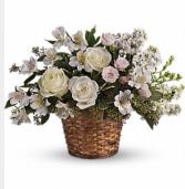 Mixed creams & whites basket  Basket