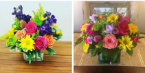 Mixed cube arrangements  Great for any occassion