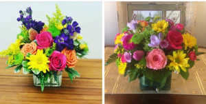 Mixed cube arrangements  Great for any occassion in Ozone Park, NY | Heavenly Florist