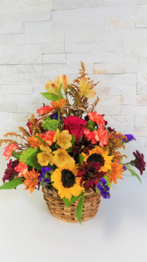 Mixed Fall Basket