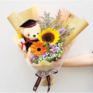 Mixed Floral Graduation Bouquet Graduation
