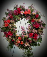 Mixed Floral Wreath 04