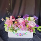 Mixed Flower Box Flower Box