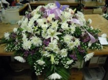 Mixed Flower (C10) Casket Spray