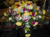 Mixed Flower (MF1) Casket Spray