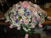 Mixed Flower (C13) Casket Spray