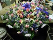 Mixed Flower (C29) Casket Spray