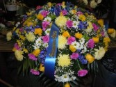 Mixed Flower (C2) Casket Spray