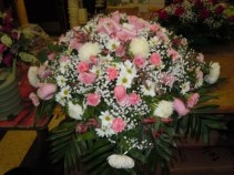 Mixed Flower (C19) Casket Spray